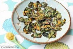 Garlic Kale Chips: Eat your greens!