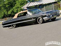 1963 Chevrolet Impala SS Convertible - Lowrider Magazine