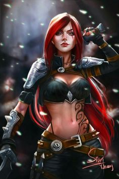 Katarina|League of legends