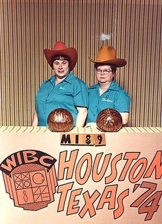 Houston, Texas '74    At least unusual for Illinois...most people don't wear cowboy hats when bowling....LOL!
