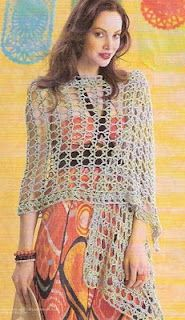 Crochet Shalw Pattern