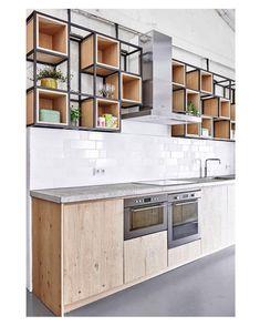 #inspiração para a cozinha. Pinterest:  http://ift.tt/1Yn40ab http://ift.tt/1oztIs0  Imagem não autoral 