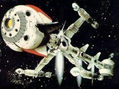 Les plus beaux vaisseaux spatiaux de guerre dans les animés, séries, JV, films, ... - Neo-Geo Fans Mundo Geek, Neo Geo, Spaceships, Science Fiction, Robot, Films, Geek Stuff, Club, Stickers