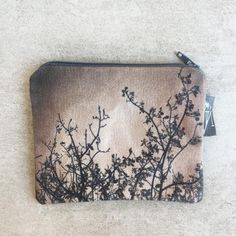 Purses - Monochrome branches Fabric Purses, Branches, Monochrome, Coin Purse, Wallet, Products, Fabric Handbags, Monochrome Painting, Purses