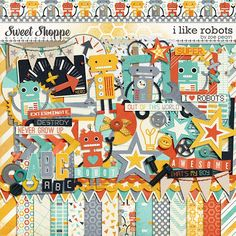 I Like Robots by Zoe Pearn $7.99 http://www.sweetshoppedesigns.com/sweetshoppe/product.php?productid=26072