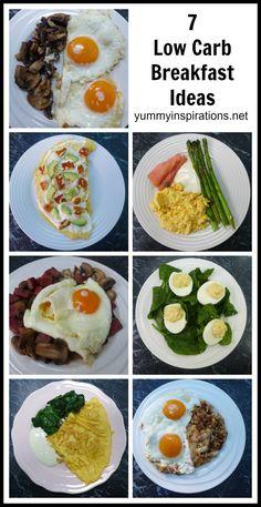 7 Low Carb Breakfast Ideas - A Week Of Keto Breakfast Recipes + Video