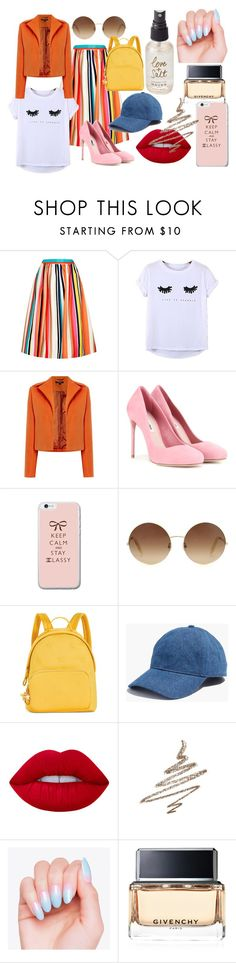 """""""#weird"""" by shiann-styles on Polyvore featuring Alice + Olivia, Chicnova Fashion, Therapy, Miu Miu, Victoria Beckham, Tommy Hilfiger, Madewell, Lime Crime, Anastasia Beverly Hills and Givenchy"""