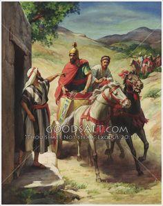 Naaman Visits Elisha