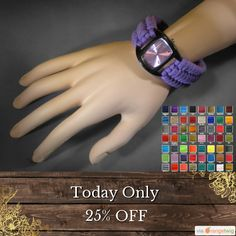 Today Only! 25% OFF this item.  Follow us on Pinterest to be the first to see our exciting Daily Deals. Today's Product: Deal Of The Day - Paracord Sports Watch - Personalized Gift Customizable Watch for Him or Her - Handmade in the USA Paracord Wrist Watch - C Buy now: https://www.etsy.com/listing/207246309?utm_source=Pinterest&utm_medium=Orangetwig_Marketing&utm_campaign=Deal%20of%20the%20Day   #etsy #etsyseller #etsyshop #etsylove #etsyfinds #etsygifts #musthave #loveit #instacool #shop…