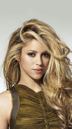 Blonde Beauty, Hair Beauty, Shakira Style, Shakira Hips, Shakira Mebarak, Female Eyes, I Love Girls, Celebs, Celebrities