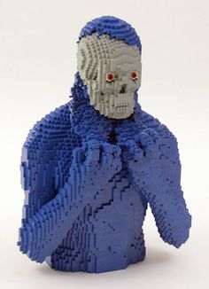 UNBELIEVABLE amazing lego sculpture by Nathan Sawaya