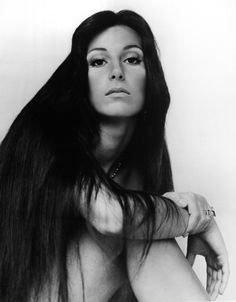 My favorite Cher picture of all time! Proof she didn't have to ever have plastic surgery, but she did. Oh well!