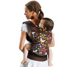 Liliputi® Soft Baby Carrier - Rainbow line -  Folk-tale Babywearing  More!  #liliputi #liliputistyle #babywearing #babycarrier #softbabycarrier