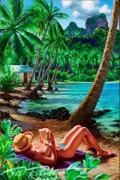 hula-girl-blue-heaven-phil-roberts