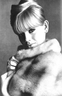 Britt Ekland photographed by David Bailey, 1965