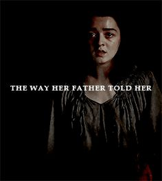 She had to be strong now, the way her father told her