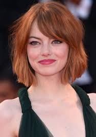 Image result for blunt copper angled bob
