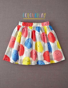 Who gives a HOOT if it's raining with this swishiest of skirts at hand! Need!