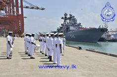 "Three Russian ships ""Admiral Panteleev"", ""Pechenga"" and ""SB-522"", arrived at the port of Colombo on 28th March 2015 for replenishment and relaxation of their crews. Admiral Panteleev is an anti-submarine ship commanded by Captain 1st Rank Aleksey V. Antsiferov. Pechenga is a replenishment vessel while SB–522 is a salvage tug. The ships, belonging to the Pacific Fleet of the Russian Navy were ceremonially welcomed by the Sri Lanka Navy in accordance with naval traditions on their arrival…"