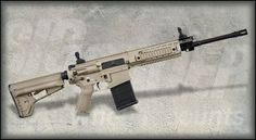 Instead of an AR-10? SIG SAUER SIG716 Patrol FDE