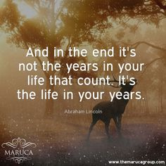 And in the end it's not the years in your life that count. It's the life in your years (Abraham Lincoln) For Professionally managed villas around the world 🌎-The Maruca Group For Details:  Please contact us @themarucagroup  Reservations@themarucagroup.com  www.themarucagroup.com  +1305-218-5216 #TheMarucagroup #Hamptons #Palmsprings #Southbeach #Bahamas #Miami#motivation #conditions #try #tryhard #hardwork #life #accept #beStrong #believe #responsibilty #choices #wheretogo #smile #stronger…