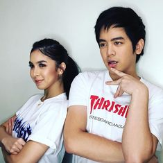 JoshLia's look for pre-promotion Joshua Garcia, Celebrity Singers, Youtubers, Ulzzang, I Love You, Promotion, Crushes, Cinema, Stars