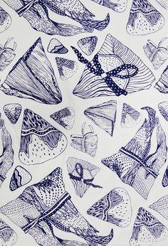 Gorgeous textile designs by Serene Lin aka Astralrae.