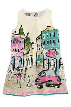 Girls Clothing Online - 3 months to 6 years - Next Printed Scene Dress - Ezibuy