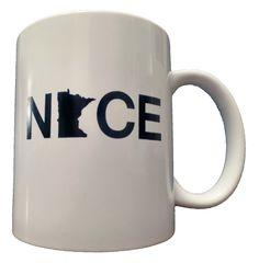 Minnesota Nice Diner Coffee Mug – Minnesota Awesome