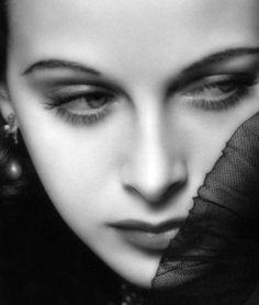 Hedy Lamarr, the famous closeup