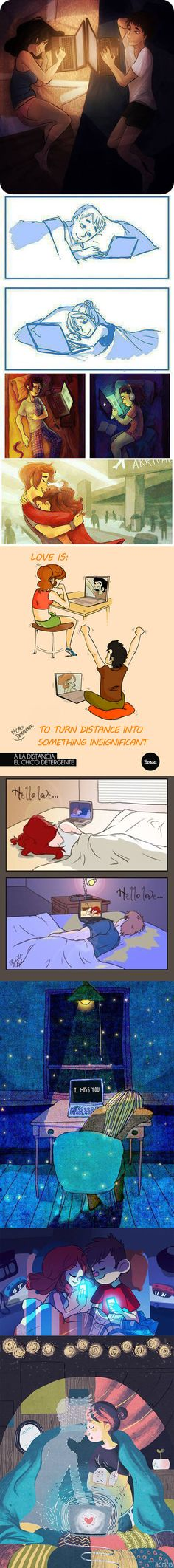 Long distance relationships are hard but worth it…