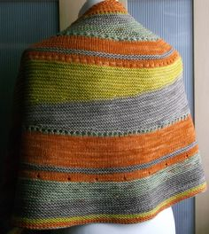 Ravelry: sunny delight shawl by Brian smith