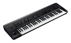 The KingKORG faithfully reproduces the ways in which the oscillator and filter of an analog synthesizer can change, giving you freedom to shape your sound. A diverse range of synth sounds can be co… Synthesizer Music, User Settings, Drum Machine, Studio Interior, You Sound, Layering, Music Instruments, Photoshop, Black