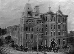 Centlivre Brewery, Fort Wayne, Indiana. 1880-1889