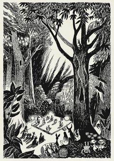 Tove Jansson - forest dwelling