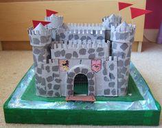 Emy's Crafty Blog: Cardboard box castles