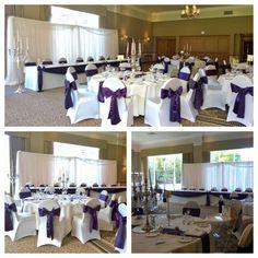 Beautiful and classy purple wedding at Craxton Wood