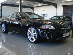2010 Jaguar XKR S/C Coupe: * An immaculate supercharged XKR * Full franchise service history; km * Balance of Jaguar Drive Plan to July 2015 * check carried out at Jaguar * Exterior in Absolute Black, interior Warm Charcoal Jaguar Cars, Jaguar Xk, Future Car, Amazing Cars, Big Cats, Race Cars, Badge, Classic Cars, Beautiful