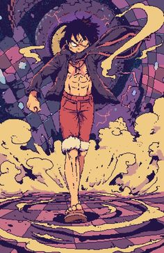 The King of pirates, about to I shown One Piece to my mother, she's… – Monkey D Luffy One Piece Anime, Ace One Piece, One Piece Comic, One Piece Fanart, One Piece Luffy, One Piece Images, One Piece Pictures, Monkey D. Luffy, Character Art