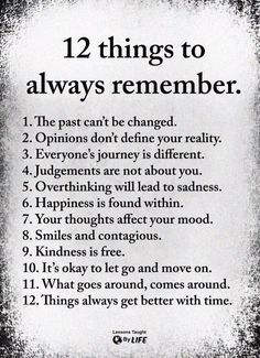 Always remember these ✨
