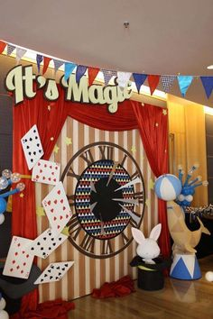 Maxwell's Birthday Party, Magic Theme; Dreamflavours Celebration Jakarta, PartyPlanner, Game Corner | CatchMyParty.com