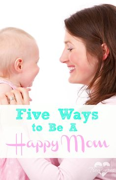 Happy moms REALLY exist! Check out these tips to give your family the gift of a happy mom! #happymom #parenting #motherhood #moms
