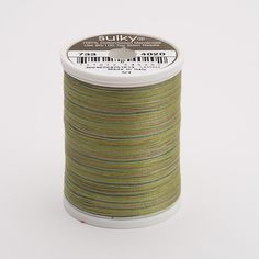 Sulky 30 Wt. Cotton Blendables Thread - Moss Medley - 500 yd. Spool