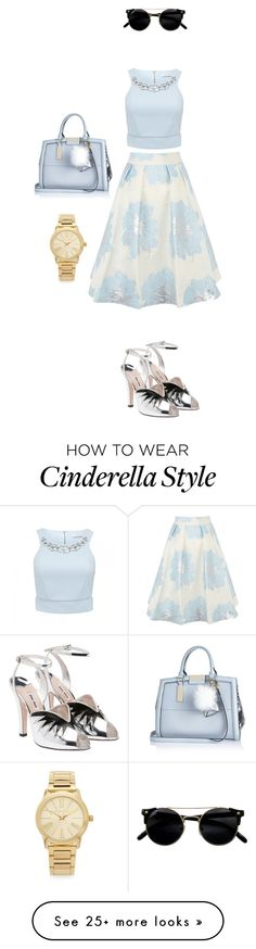 """""""Modern Cinderella"""" by doujinshi-queen on Polyvore featuring Forever New, Coast, Miu Miu, River Island, Michael Kors and modern"""