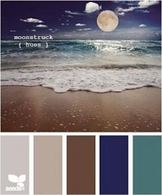 Moonstruck Hues - VC silver heather, linen, taupe, navy, and dusty blue