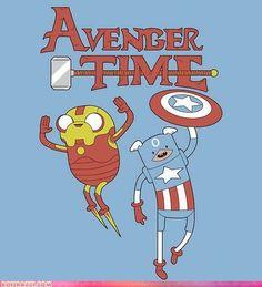 Advenger Time  Adventure Time