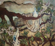 Trees, Rocks, Birds -Joseph Bradley