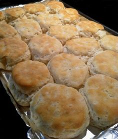 Old Fashioned Buttermilk Biscuits  These will remind you of your Southern grandmother's biscuits or make you wish you had a Southern grandmother!  2 cups sifted Martha White flour or all-purpose flour  (sift before measuring)  1 tablespoon baking powder  3/4 teaspoon salt  1/2 teaspoon baking soda  5 tablespoons chilled vegetable shortening      or lard (makes the best biscuits)  1 cup buttermilk by gay