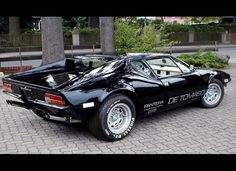 1973 De Tomaso Pantera. This muscle car was pioneered by Argentinian race car driver Alejandro De Tomaso, who sought to combine American muscle with Italian charm all in one-sports car