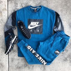 Rate this fit 🤔 Cute Nike Outfits, Swag Outfits Men, Cute Lazy Outfits, Stylish Mens Outfits, Tomboy Outfits, Tomboy Fashion, Dope Outfits, Streetwear Fashion, Sneakers Fashion